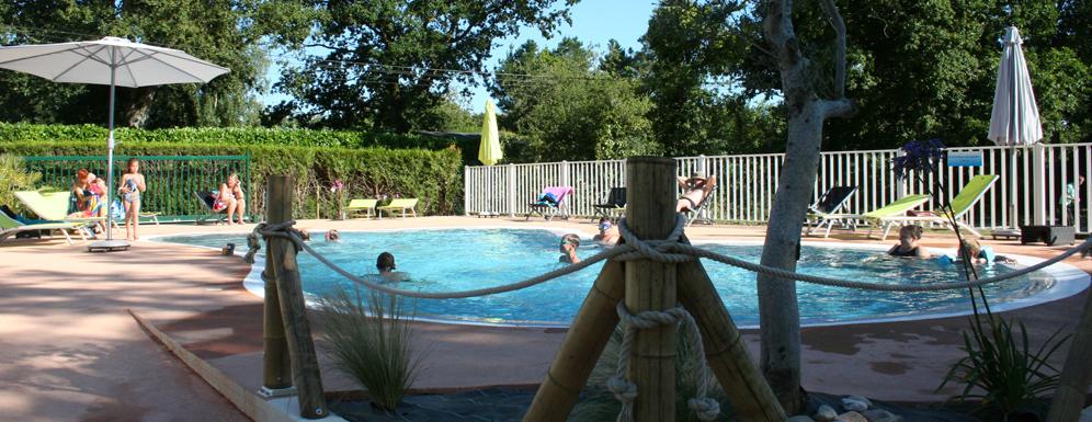 Heated Swimming Pool Campsite Penestin